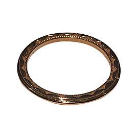 Tacori 18K Rose Gold Wedding Band Ring Size 5.5