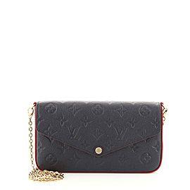 Louis Vuitton Felicie Pochette Monogram Empreinte Leather