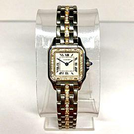 CARTIER PANTHÉRE 22mm Ladies Watch Diamond Bezel & Bracelet