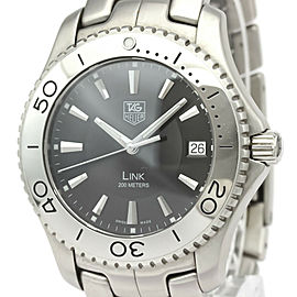 AG HEUER Link Stainless Steel Quartz Watch