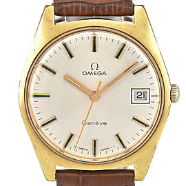 OMEGA Geneve Silver Dial Cal.613 Hand-winding Men's Watch