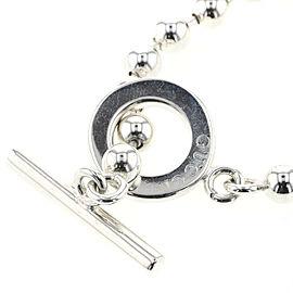 GUCCI 925 silver Ballchain Necklace