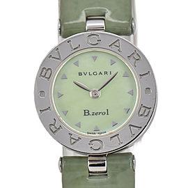 BVLGARI B.zero1 BZ22S Green Shell Dial Quartz Women's Watch