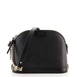 Louis Vuitton Alma Chain Handbag Epi Leather Mini