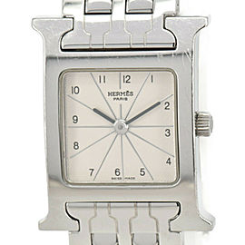 HERMES H Watch HH1.210 Stainless Steel Quartz Women's Watch