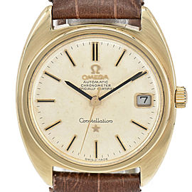 OMEGA Constellation Chronometer Cal.564 Silver Dial Automatic Mens Watch