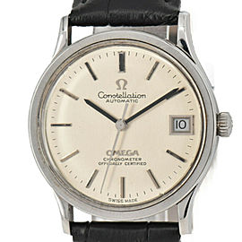 OMEGA Constella Date Chronomete Cal.1001 Automatic Men's Watch
