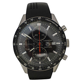 Tag Heuer Carrera CV2014 Stainless Steel / Rubber 41mm Automatic Mens Watch