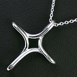 TIFFANY & Co Silver925 cross Necklace