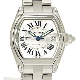 Cartier Roadster W62000V3 Stainless Steel Automatic 44mm Mens Watch