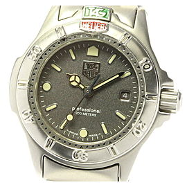 TAG HEUER Stainless Steel/Stainless Steel Professional Watch RCB-85