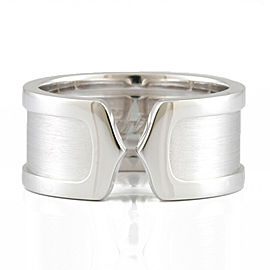 CARTIER 18K white gold Wide 2C Ring