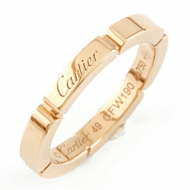 CARTIER 18K Pink Gold Mailon Panthere Ring CHAT-918