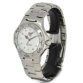 TAG HEUER Kylium WL1110 Professional 200M White Dial Quartz Men's Watch