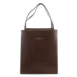 Hermes Lucy Tote Leather MM