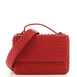 Bottega Veneta Alumna Top Handle Bag Intrecciato Nappa Small