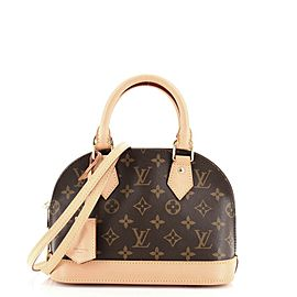 Louis Vuitton Alma Handbag Monogram Canvas BB
