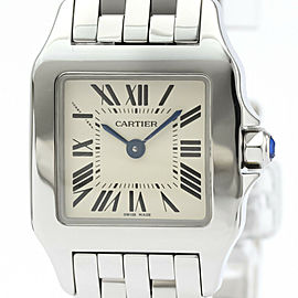 CARTIER Santos Demoiselle Steel Quartz Ladies Watch W25064Z5