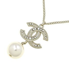 Chanel B19B Fake Pearl Necklace
