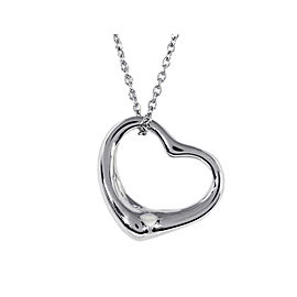 Tiffany Elsa Peretti Sterling Silver Necklace