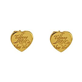 Tiffany 18k Yellow Gold Earrings