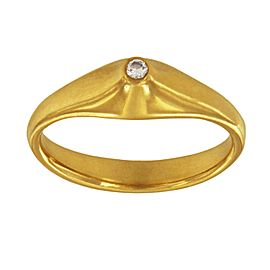 Tiffany 18k Yellow Gold Ring