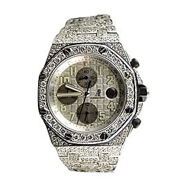 Audemars Piguet Royal Oak Offshore 23 Ct Diamond Watch