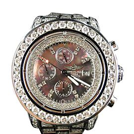 Breitling Super Avenger 1 Row Big Diamond 32 Ct Brand New 53 mm Mens Watch