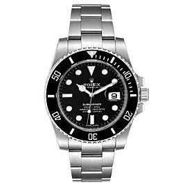 Rolex Submariner Ceramic Bezel Steel Mens Watch 116610 Box Card Unworn