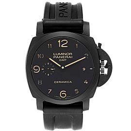 Panerai Luminor 1950 3 Days GMT Ceramic Limited Edition Watch PAM00441