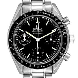 Omega Speedmaster Reduced Automatic Chronograph Steel Watch