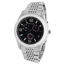Gucci 101 G-Timeless Big Face 45mm Swiss Diamond Watch