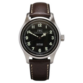 IWC Pilot Spitfire Mark XV 3253 Stainless Steel Automatic Mens Watch