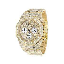 Audemars Piguet Royal Oak 18K Yellow Gold 41mm Mens Watch