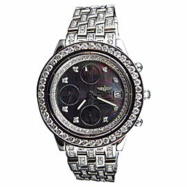 Breitling Aeromarine A13352 Stainless Steel 41mm Mens Watch