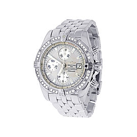 Breitling Chronomat A13356 Stainless Steel 43mm Mens Watch