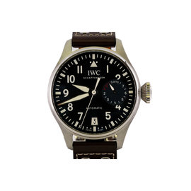 IWC Big Pilot IW500916 Stainless Steel & Leather Automatic 46.2mm Mens Watch