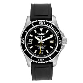 Breitling Aeromarine Superocean 44 Yellow Hand Watch A17391 Box