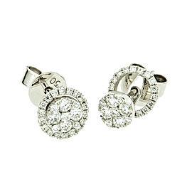 Diamond Stud Earrings with Jacket