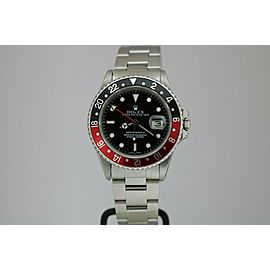 """Rolex GMT Master II 16760 """"Fat Lady"""" Vintage Automatic Watch Circa 1980s"""