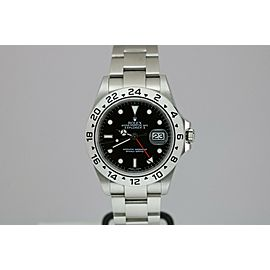 Rolex Explorer II 16570 T Black Dial Caliber 3186 Automatic Watch G Series