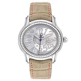 Audemars Piguet Millenary Steel Diamond Ladies Watch 77301ST