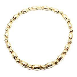 Van Cleef & Arpels 18k Yellow Gold Knotted Link Necklace