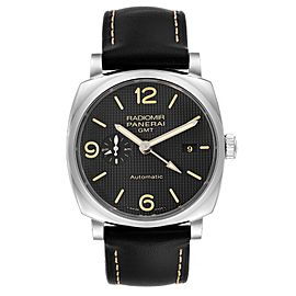 Panerai Radiomir 1940 Black Dial 45mm Steel Mens Watch PAM00627