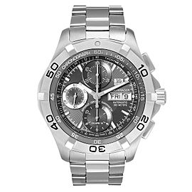 Tag Heuer Aquaracer Day Date Chronograph Steel Mens Watch CAF5011