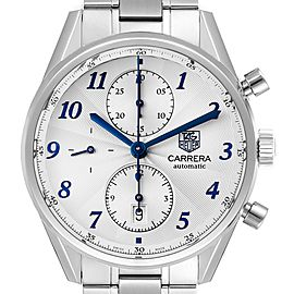 Tag Heuer Carrera Heritage Chronograph Steel Mens Watch CAS2111