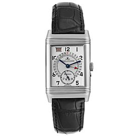 Jaeger LeCoultre Grande Reverso Day Date Mens Watch 270.8.36 Box Papers