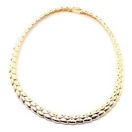 Vintage Van Cleef & Arpels 18k Yellow Gold Choker Necklace