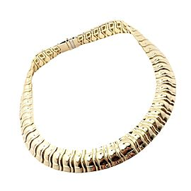 Piaget 18k Yellow Gold Classic Thick Limited Edition 1990 Necklace