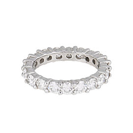 Platinum And Diamond Band Ring